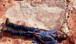 В Парке юрского периода в Австралии нашли гигантские следы динозавра