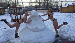 Гости «Московской Масленицы» будут лепить из снега Ждуна