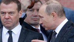 В соцсетях обсуждают, почему намок Путин