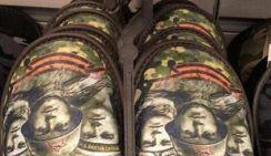 Тапки с лицами ветеранов продают в Сургуте ко дню Победы