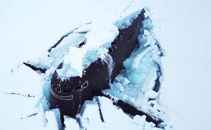 Синхронное подводное плавание в Арктике