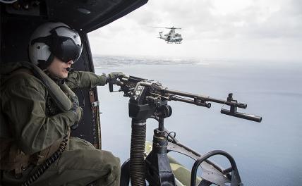 Русский флот объяснил американцам, что такое «Полундра!»
