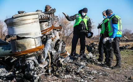Малайзийский «боинг» в Донбассе сбила в 2014 году украинская «сушка»