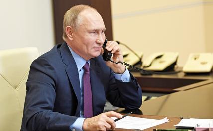 В Кремле раскрыли подробности разговора Путина и Байдена