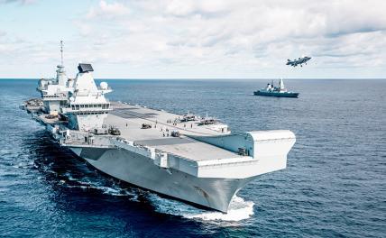 Британия снова хочет пальнуть по Севастополю с моря