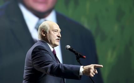 Лукашенко показал Зеленскому бронированный кулак