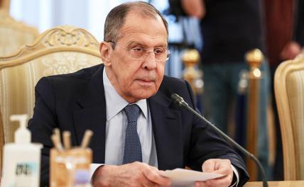 Лавров заявил об угрозе резни в Донбассе