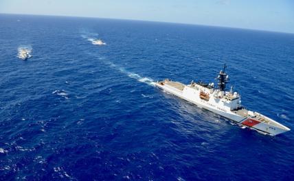 Вместо эсминцев Америка прислала в Черное море катер для ловли браконьеров