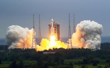 Китай строит орбитальную станцию, а Россия выбывает из космической гонки?