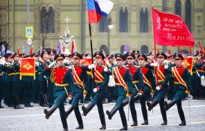 Путин при параде: Вроде ничего нового, но как красиво!