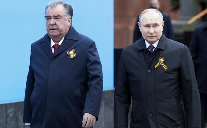 Призрак Наджибуллы пригнал Рахмона в Кремль в День Победы