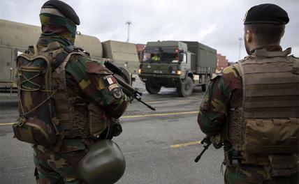 Европу превратили в поле военных действий