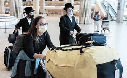 Власти Израиля рекомендовали своим гражданам воздержаться от поездок в Россию