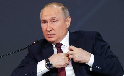 Путин: «Мне наплевать, если меня где-то заблокируют»