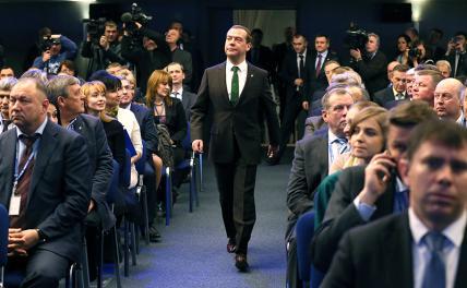 Кульбит Медведева: Из экс-президента— в балласт «Единой России»