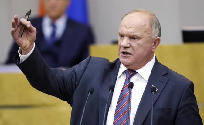 Геннадий Зюганов: Смесь провокации, невежества и цинизма - Статьи -  Политика - Свободная Пресса
