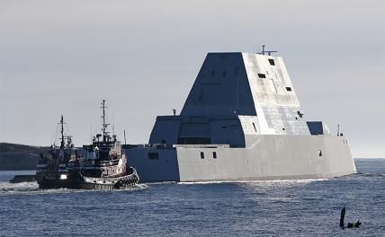«Меркурий» VS «Zumwalt»: У кого получится сделать корабль-невидимку хуже