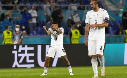 Италия разгромила Турцию в матче открытия Евро-2020