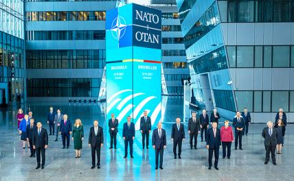 Из Брюсселя нам грозит НАТО. Стратегически…