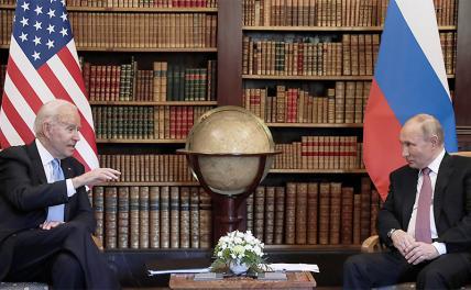 Июнь, Женева, миру-мир: Путин и Байден посмотрели в глаза друг другу