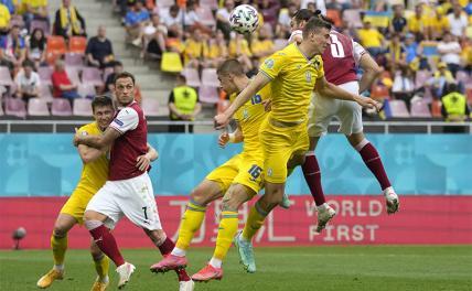 Сборная Украины заняла третье место в группе на Евро-2020
