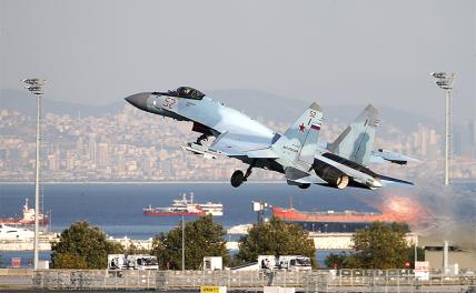 Спутниковые снимки США: Нашим летчикам не видать Су-35 как своих ушей