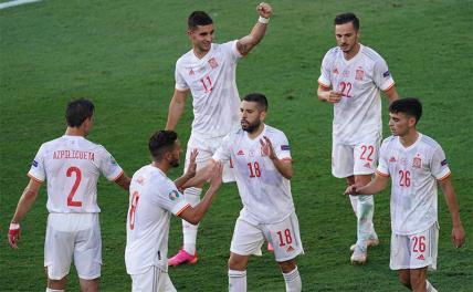 Испания разгромила Словакию и вышла в плей-офф Евро-2020