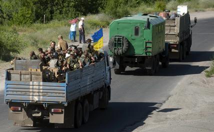 Украинцы без инструкций знают, куда бежать
