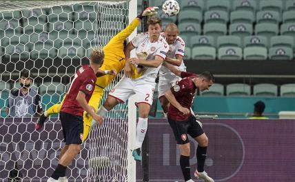 Дания вышла в полуфинал Евро-2020