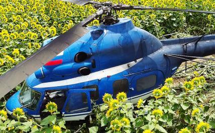В Кабардино-Балкарии разбился вертолёт Ми-2