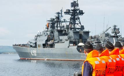 Надувная лодка ВМФ: Как из фрегата сделать крейсер