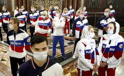 Олимпиада в Токио: Россия летит за очередной порцией унижений