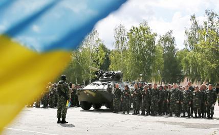 На Украине призывают начать военную кампанию в Донбассе
