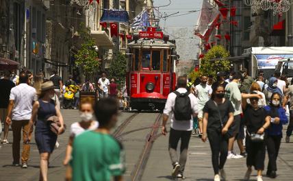 В Турции зафиксирован новый рекорд по количеству заболевших COVID-19