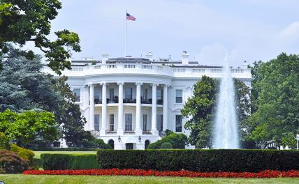 На фото: здание Белого дома в Вашингтоне