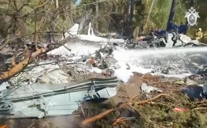 Эксперты выяснили причину гибели экспериментального самолёта Ил-112В