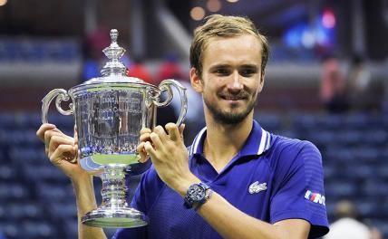 ЧемпионUS Open Медведев прокомментировал слезы Джоковича и свое легендарное падение