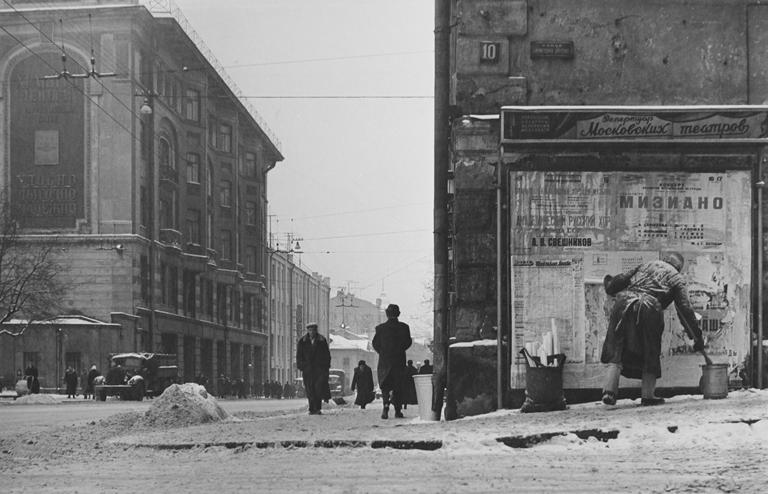 Как выглядела Москва 60 лет назад. Время и люди на снимках Леонида Лазарева