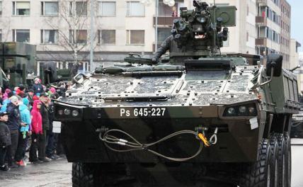 Латвия сажает пехоту в новую «броню», которую русским будет труднее подбить