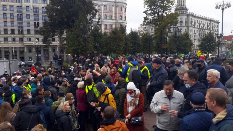 Коммунистам устроили облаву, испугавшись встречи на Пушкинской (онлайн)