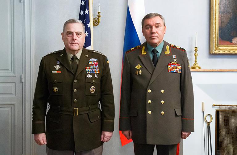 США-Россия: Генералы посмотрели друг другу в глаза