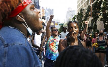 Black Lives Matter: России придётся играть по нашим правилам