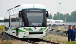 Первый в мире гибридный трамвай на водородном топливе