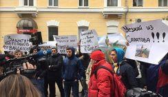 Cаратовчане едва не линчевали Навального