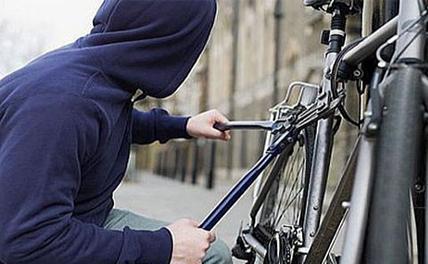 Англичанка угнала у вора свой велосипед