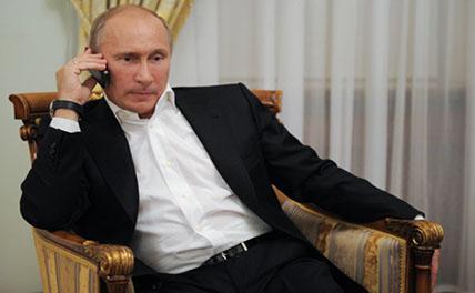 Названы темы телефонного разговора Путина с Эрдоганом