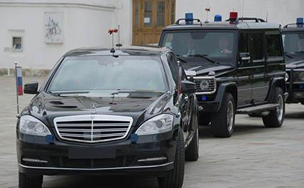 Путь кортежа Путина в Питере «минировали» 60 раз