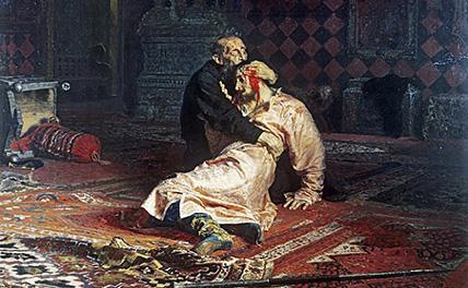 Художник объяснил нападение на полотно «Иван Грозный»