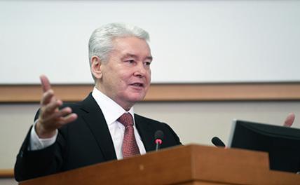 Собянин подвел итог 8-летней работы на посту мэра