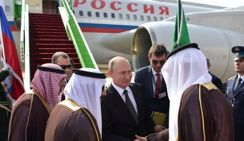 Только прагматика. Владимир Путин прибыл в Саудовскую Аравию